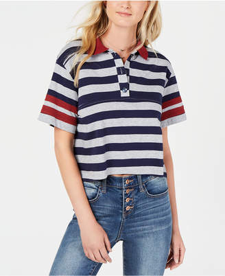 Living Doll Rules of Etiquette Striped Polo Top