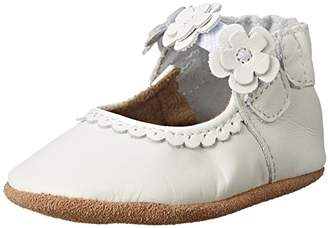 Robeez Girls' Mary Jane Soft Soles Crib Shoe