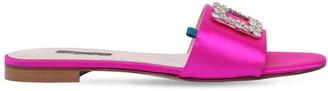 Sarah Jessica Parker 10mm Grace Embellished Satin Sandals