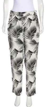 Mikoh High-Rise Silk Pants