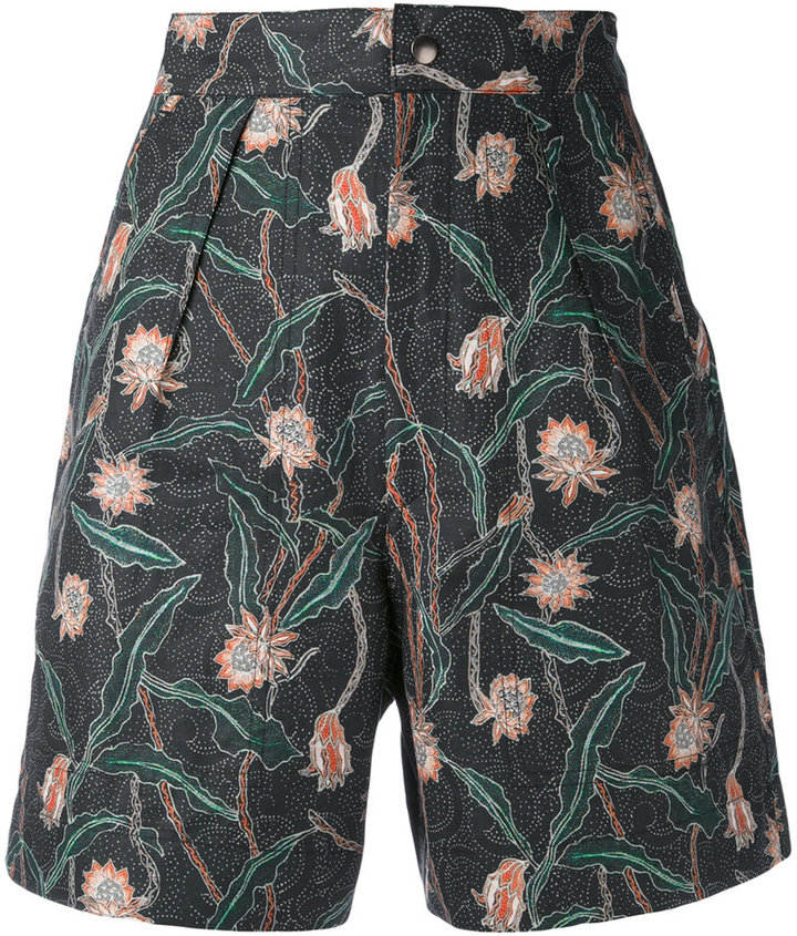 Isabel MarantIsabel Marant floral printed shorts