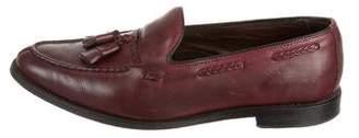 Allen Edmonds Leather Tassel Accent Loafers