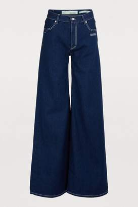 Off-White Off White Wide-leg jeans