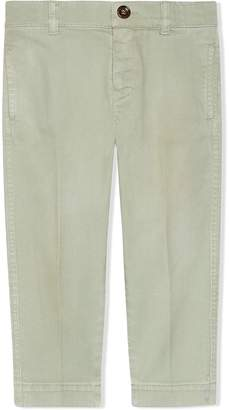 Gucci Kids Children's stretch cotton pant