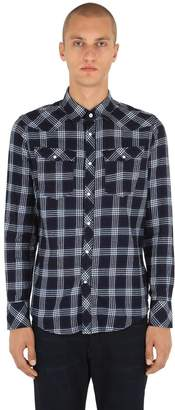 G Star 3301 Cotton Flannel Shirt