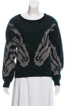Altuzarra Wool & Cashmere Long Sleeve Sweater
