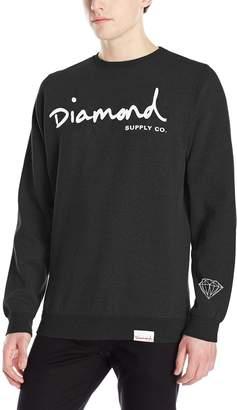 Diamond Supply Co. Men's Og Script Crewneck