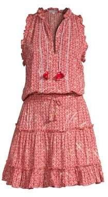 Cara Ruffle Mini Dress