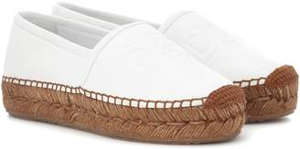 Dolce & Gabbana Leather espadrilles