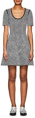 Opening Ceremony Women's Zebra Jacquard Fit & Flare Dress