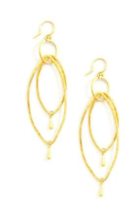 Chan Luu Marquise Dangle Earrings