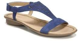 Naturalizer Windham Leather Ankle-Strap Sandals