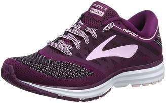 Brooks Women's Revel Running Shoe (BRK-120249 1B 40214C0 10.5 WHT/ANT/BLK)