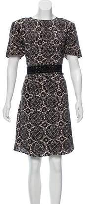 Burberry Printed Knee-Length Dress