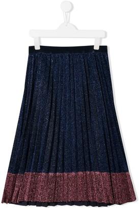 Little Marc Jacobs sparkle pleated skirt