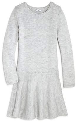 Splendid Girls' Drop-Waist Sweater Dress - Big Kid