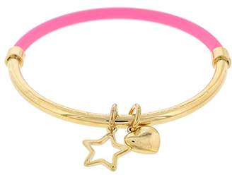 Marc by Marc Jacobs Heart Star Hula Hoop Bangle Bracelet