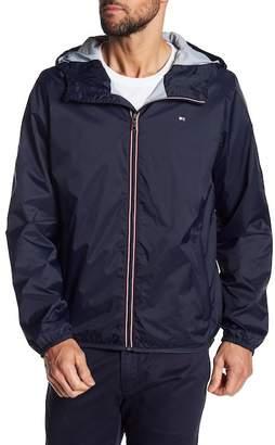 Tommy Hilfiger Packable Hooded Rain Slicker