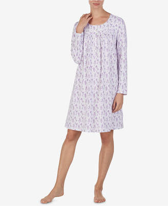 2ef3aedb29 Eileen West Printed Cotton Knit Nightgown