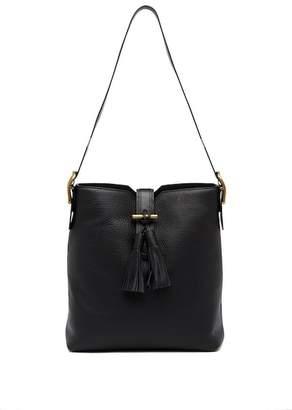 Anne Klein Sofia Leather Tassel Hobo Bag
