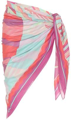 Emilio Pucci Beach Printed cotton sarong