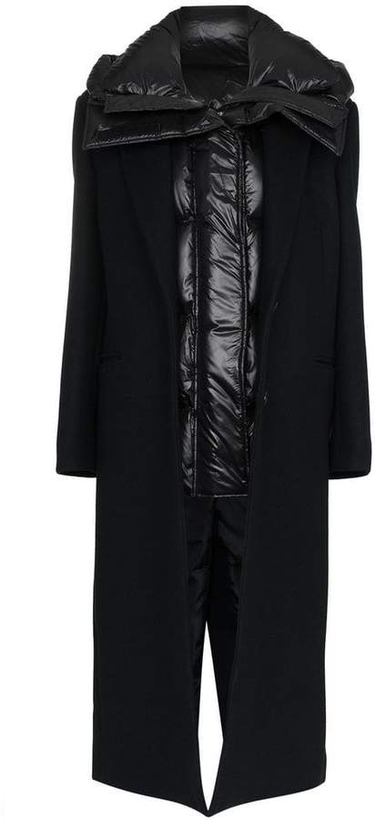 Detachable Padded feather down coat