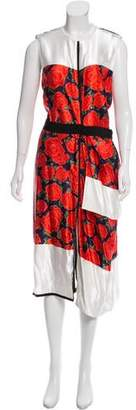 Maison Rabih Kayrouz Sleeveless Printed Dress w/ Tags