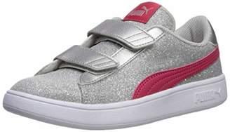 Puma Women's Smash Glitz Velcro Sneaker