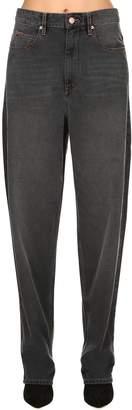Etoile Isabel Marant Corsy Overboyfriend Cotton Denim Jeans