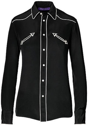 Ralph Lauren Carson Silk Western Shirt $1,690 thestylecure.com