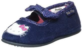 Hello Kitty Girls' HK Baraka Open Back Slippers,10UK Child