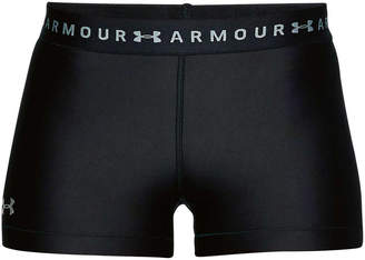 Under Armour Womens HeatGear Armour Shorty Shorts