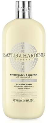 Baylis & Harding Sweet Mandarin & Grapefruit Refreshing Luxury Bath Soak 500ml