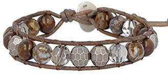 Chan Luu Bronzite Mix Single Wrap Bracelet