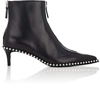 Alexander Wang Women's Eri Leather Ankle Boots - Black