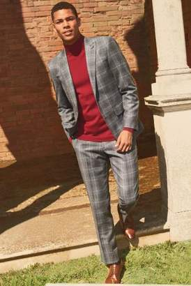 Next Mens Slim Fit Signature Check Suit: Trouser