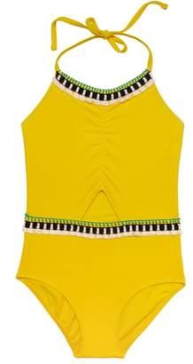 Gossip Girl Tassel Party One-Piece Swimsuit