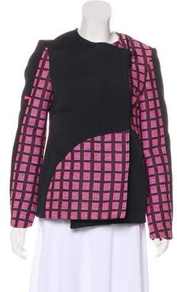 Opening Ceremony Woven Colorblock Jacket