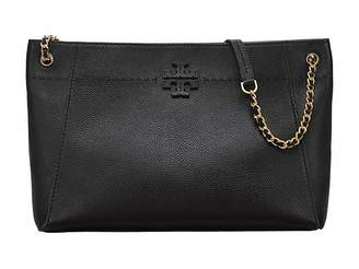 Tory Burch McGraw Chain-Shoulder Slouchy Tote