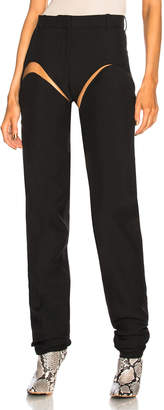 Y/Project Adjustable Short Pant in Black   FWRD