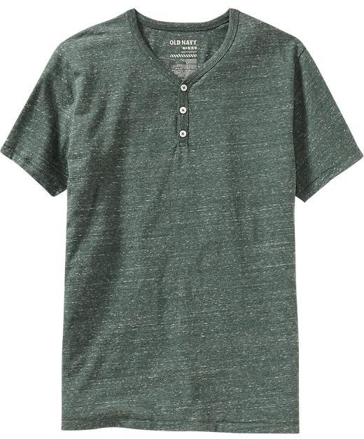 Men's Premium Jersey Henleys