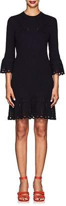 Derek Lam 10 Crosby Women's Crochet-Trimmed Cotton Dress