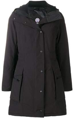 Canada Goose concealed front coat