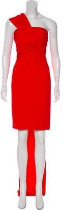Kaufman Franco KAUFMANFRANCO Accented Mini Dress