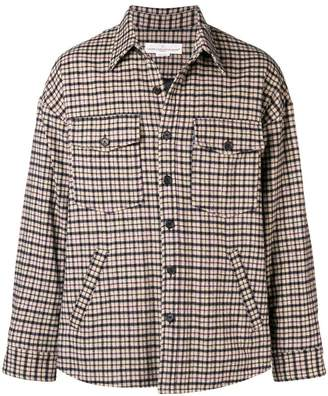 Golden Goose plaid shirt jacket