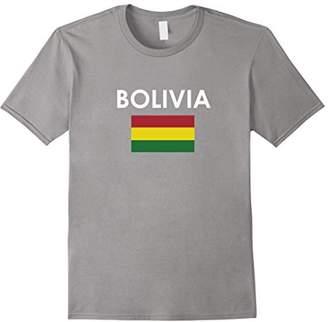 BOLIVIA Flag T Shirt for Bolivian Loving Americans
