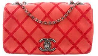 Chanel Iridescent Calfskin Diamond Stitch Small Flap Bag