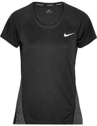Nike Miler Flash Dri-fit Stretch T-shirt - Black