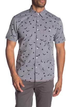 Burnside Printed Novelty Short Sleeve Shirt