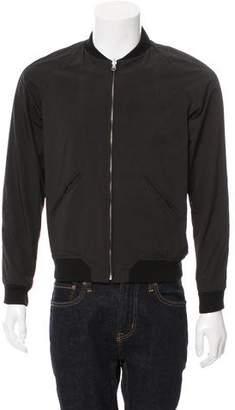 Nudie Jeans Reversible Pattern Print Bomber Jacket